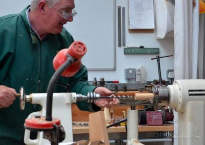 Hollowing out the egg timer